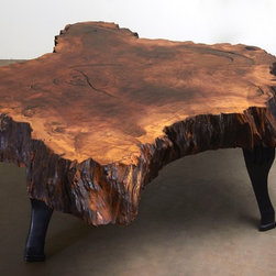 "Coffee Table - Natural Design Wood. - ""Update your style. Keep your roots."""