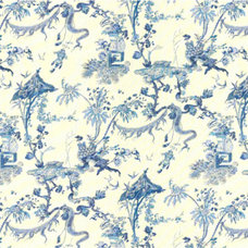 Asian Upholstery Fabric by CurtainsMade4U