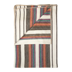 Shupaca - Throw Blanket, Oasis - All-natural, 100% hypo-allergenic, lightweight and extremely warm. Made from South American Alpaca fibers giving it a silky feel that is luxuriously soft and comfortable. Delicate Wash or Dry clean. Color: Multi-color, Wine, Berry Cream, Brown. Made in Ecuador.
