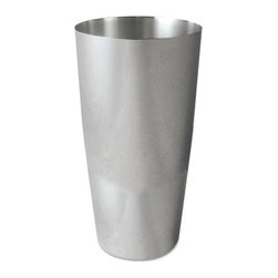Adcraft - Adcraft Bar Shaker, 30 oz, Stainless Steel with Mirror Finish - Bar shaker gets the job done, whether you're mixing up a martini or a margarita. The strength of stainless steel ensures a quality, long-lasting product. Attractive mirror finish.