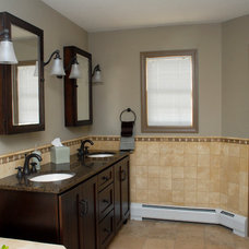 Traditional Bathroom Vanities And Sink Consoles by Competitive Kitchen Designs, Inc.