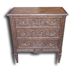 EuroLux Home - New Chest of Drawers French Brass Consigned Antiqued - Product Details