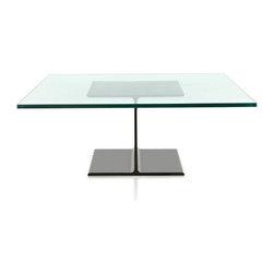 Herman Miller - Herman Miller | Ward Bennett I-Beam Coffee Table - Design by Ward Bennett.