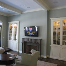 Traditional Family Room by Davis Audio & Video