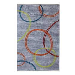 Mohawk - Contemporary Sleek 5'x8' Rectangle Multi Color Area Rug - The Sleek area rug Collection offers an affordable assortment of Contemporary stylings. Sleek features a blend of natural Multi Color color. Machine Made of Nylon the Sleek Collection is an intriguing compliment to any decor.