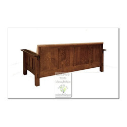 Mission Style Sofas - 100% HANDCRAFTED IN THE UNITED STATES BY OUR MASTER-CRAFTSMAN AND GUARANTEED FOR LIFE!
