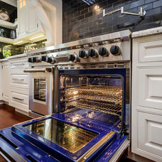 Traditional Gas Ranges And Electric Ranges by Leslie Ann Interior Design