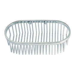 Oval Shower Basket - This shower basket features a deeper interior making it perfect for shampoo and shower soap bottles.