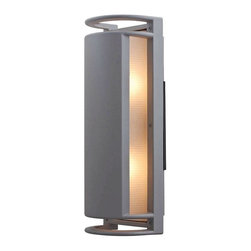 Access Lighting - Access Lighting C20343MGSATRFREN1218B Poseidon 2 Light Outdoor Wall Lights in Sa - Wet Location Bulkhead