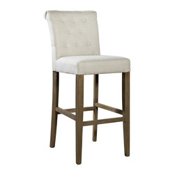 EuroLux Home - New Bar Stool Fabric FC-588 - Product Details