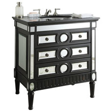 Modern Bathroom Vanities And Sink Consoles by Chans Furniture