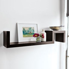 Modern Display And Wall Shelves  by West Elm