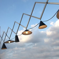 Contemporary Outdoor Lighting by Iris Design Studio