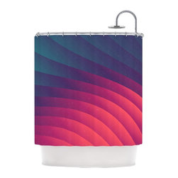 "Kess InHouse - Danny Ivan ""Reservoir Lines"" Pink Geometric Shower Curtain - Finally waterproof artwork for the bathroom, otherwise known as our limited edition Kess InHouse shower curtain. This shower curtain is so artistic and inventive, you'd better get used to dropping the soap. We're so lucky to have so many wonderful artists that you'll probably want to order more than one and switch them every season. You're sure to impress your guests with your bathroom gallery in addition to your loveable shower singing."