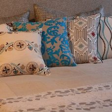 Contemporary Pillows by Filling Spaces by Deepali Kalia
