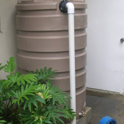 Rainwaterharvesting - Rain barrel 205 gallon