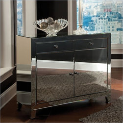 Standard Furniture Plaza Buffet in Mirror - About This Product:
