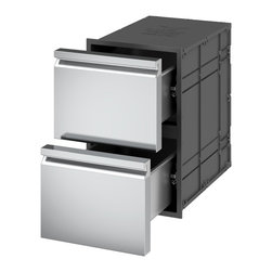 Ronda Distributed by Evo, Inc. - Ronda Insulated Double Drawer Unit - Thanks to the insulating system, the magnetic seal and the use of specially designed and patented materials, The Ronda Insulated Single Drawer is able to keep the temperature as long as you need. The magnetic seal avoids dust and unwelcome intruders.