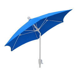 7.5 Ft Hexagon Pacific Blue Patio Garden Beach Umbrella