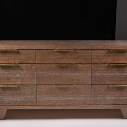 Dresser - Rift White Oak Dresser w/ 9 drawers