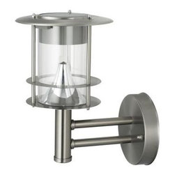 Unique Arts - Unique Arts Outdoor Lighting. New Stainless Steel Lighthouse LED Wall Light - Shop for Lighting & Fans at The Home Depot. The Lighthouse Wall Light will provide a bit of nautical whimsy while adding a beacon of light to entryways or walls. Solar powered light charges from the sun, meaning there are no wires, no plugs, no outlets or connections to make! High output LED lights provide a bright spot of reference. Light will shine for up to eight full hours on a full charge. 100% stainless steel housing will not rust, providing years of use. A clear, high impact polycarbonate lens protects the lamp from moisture. Easy installation with included hardware. 10.2 inches tall.