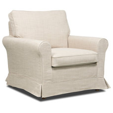 Modern Armchairs And Accent Chairs Bloomsbury Beige Premium Armchair