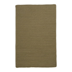 Colonial Mills - Colonial Mills Simply Home Solid H188 Sherwood Rug H188R144X180S 12x15 - Practical. Colorful. Versatile. Maintenance-free. Simply pick from 37 colors to find the perfect solid-color indoor/outdoor rug for your space.