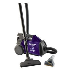 Electrolux Home Care - Eureka Pet Lover Mighty Mite Vacuum, 3684F - Eureka 'Pet Lover canister' Vacuum. Love your pets not their hair and odor. Ideal for people who need to clean up after pets. Pet Power Paw removes pet hair from carpet and upholstery! Plastic teeth loosen it rubber strip grabs it and bristles remove it. ARM and HAMMER High Filtration Bag eliminates pet odors and captures allergy-causing pet dander. Hepa Filtration captures 99.97% of dust and pet dander for a cleaner home.