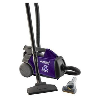 Electrolux Home Care - Eureka Pet Lover Mighty Mite Vacuum,3684F - Eureka 'Pet Lover Canister' Vacuum. Love your pets not their hair and odor. Ideal for people who need to clean up after pets. Pet Power Paw removes pet hair from carpet and upholstery! Plastic teeth loosen it rubber strip grabs it and bristles remove it. Arm and Hammer High Filtration Bag eliminates pet odors and captures allergy-causing pet dander. Hepa Filtration captures 99.97% of dust and pet dander for a cleaner home.