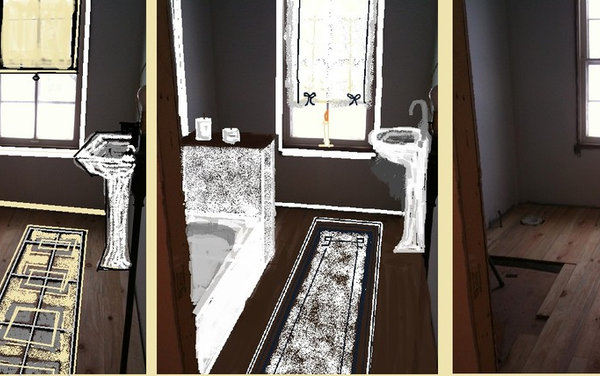 Which option do you prefer for a small 5 x 9 hallway bath for Bathroom remodel 5x9