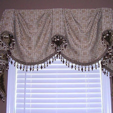 Traditional Bathroom by Lady Dianne's Custom Window & Bed Treatments