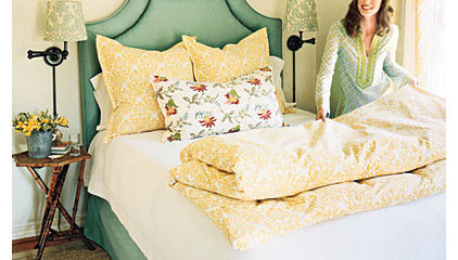 Guest Rooms: Sunny Guest Retreat < Style Guide: Guest Bedroom Decorating Ideas -