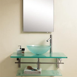 Dreamline Glass Vanity DLVG-1002 - PRODUCT SPECIFICATIONS