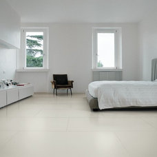 Contemporary Wall And Floor Tile Black & White