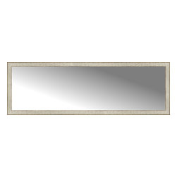 """Posters 2 Prints, LLC - 71"""" x 23"""" Libretto Antique Silver Custom Framed Mirror - 71"""" x 23"""" Custom Framed Mirror made by Posters 2 Prints. Standard glass with unrivaled selection of crafted mirror frames.  Protected with category II safety backing to keep glass fragments together should the mirror be accidentally broken.  Safe arrival guaranteed.  Made in the United States of America"""