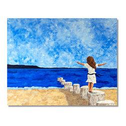 "JillianSuzanne.com - Freedom - Freedom : Oil on Canvas: 48"" X 60"""