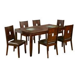 Alpine Furniture - Lakeport 7 PC Dining Set - Lakeport 7 PC Dining Set