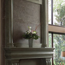 Traditional Fireplaces by Omega mantels of Stone
