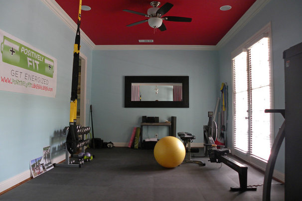 Transitional Home Gym by Sarah Greenman