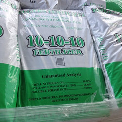 Visions Landscape Supply Products - 10-10-10 fertilizer in stock,