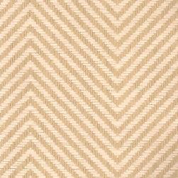Erin Line Herringbon - Natural - Ralph Lauren's collection of woven wallpapers from the Textures III book.