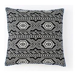 Aztec Print Pillow - Aztec prints are one of the most memorable designs out there. Add a dash of this tantalizing pattern into your home with a stylish throw pillow. It goes with everything.