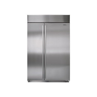"""Sub-Zero 48"""" Side-by-Side Refrigerator/Freezer - The Sub-Zero refrigerator/freezer features dual refrigeration plus state-of-the-art water filtration and air purification systems."""