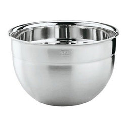 "Rosle - Rosle Deep Bowl - 9.0 qt. - Decorative bowls for serving at table as well as for preparation and storage of foodstuffs. Pouring rim to facilitate Pouring of liquids. Dimensions: 11.0"" (28.0 cm) Capacity: 9.0 qt. . 5-year warranty."