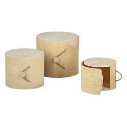 Birch Gift Boxes - Simple boxes hide away my clutter and treasures alike.