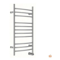 Mr. Steam - Mr. Steam W336 11-Bar Wall Mounted Electric Towel Warmer (W336CORDSSP) - The ultimate indulgence after a steam bath or shower is wrapping yourself in a freshly warmed towel. Mr. Steam's Series 300 towel warmers are available in freestanding and mounted options, providing a luxury you won't want to resist.