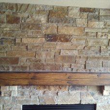 Traditional Indoor Fireplaces by Sturgis Material Inc