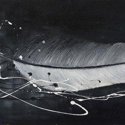 Memories by Preethi: Original Large Modern Painting - Title: Memories