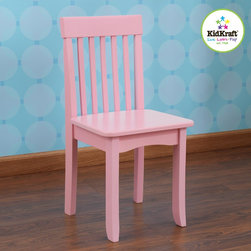 kids chair - Avalon pink color kids chair - your baby girl will  love relaxing with our Avalon kids Chairs, Our heirloom quality avalon Chair is crafted form solid wood to endure rigorous use through childhood.