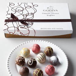Godiva 24-Piece Ultimate Dessert Truffles Gift Box
